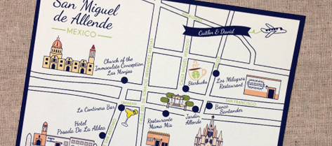 Illustrated San Miguel de Allende Map