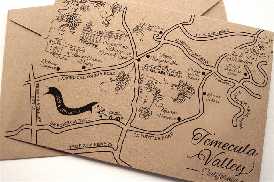 dana marino design custom maps