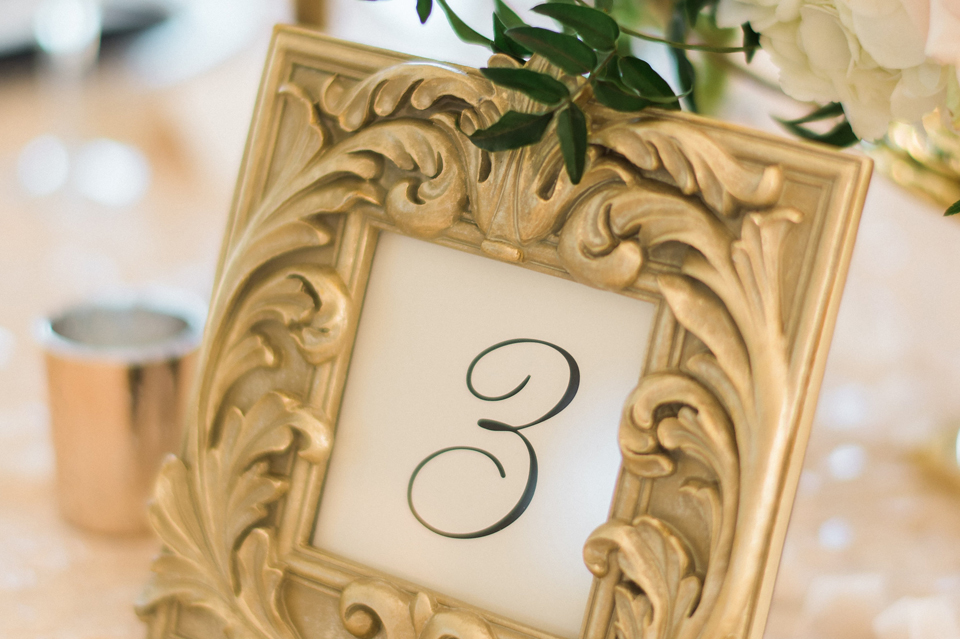 Heather and James Table Numbers