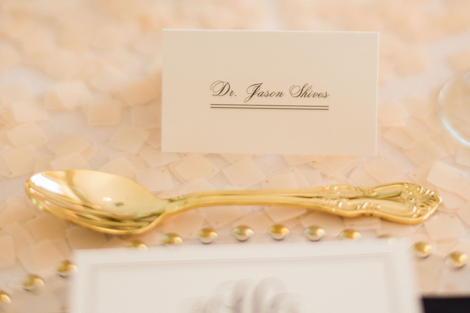 Heather and James Place Cards