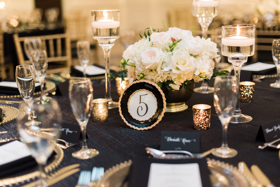 Rikki and David Table Numbers